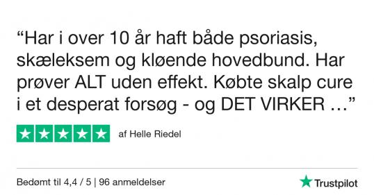 Trustpilot Review - Helle Riedel